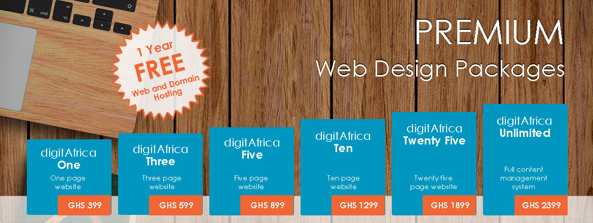 Web Design Packages 2019